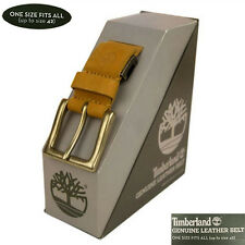 Timberland Men's 38 mm Width Wheat Leather Customizable Cut to Fit Belts A1DMY