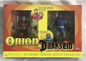 2001 DC Direct ORION and DARKSEID Deluxe Action Figure Set, New Gods