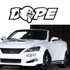 "8"" x 3"" JDM Dope Custom Car Truck Window Drift Vinyl Decal Sticker Funny YX"