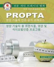 Korean PROPTA Professional Nutrition Tech Certification Course Manual by...