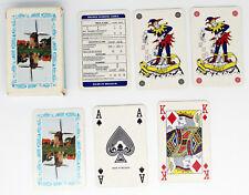 "PACK OF PLAYING CARDS, WINDMILL (by ""E-H""), 3 JOKERS, BRIDGE CARD, CARTAMUNDI"
