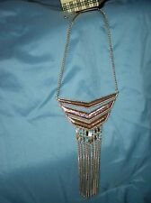 NWT BEBE COIN bib necklace  L@@K! a hot statement cocktail piece!