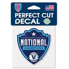 Villanova Wildcats 2018 National Champions Perfect Cut Decal NEW! 3x3 Inches