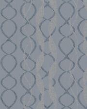 Tapete Marburg La Vie 58121 / Tapete Schleifen Blau Silber Metallic / 3,47 €/qm