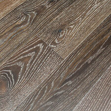 "6"" Brushed French Oak Porter Engineered Floating Wood Flooring Plank Sample"