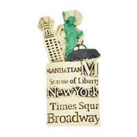 3D  Resin Fridge Magnet New York Pattern Souvenir Landscape Refrigerator Magnet