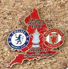 Insignia Chelsea FC vs Manchester United FA Cup Final 19-05-2018