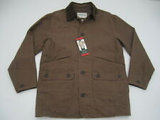 Mens Medium Orvis Barn Jacket Tobacco brown quilted lined