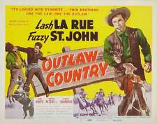 OUTLAW COUNTRY Movie POSTER 27x40