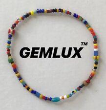 LUIS MORAIS Glass Bead Enamelled Gold Bracelet RRP £180