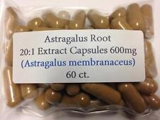 Astragalus Root Extract 20:1 High Quality Vegan Capsules 60 ct.
