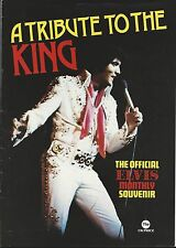 ELVIS PRESLEY - A TRIBUTE TO THE KING ELVIS MONTHLY SOUVENIR MAGAZINE