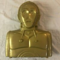 C3PO Action Figure Carrying Case | Kenner | 1996 | Star Wars | No Inserts | Used
