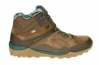 MENS MERRELL LEATHER FRAXION MID WATERPROOF BROWN HIKING WALKING BOOTS 6-11