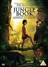 The Second Jungle Book Mowgli and Baloo Rudyard Kipling Sony UK 2016 Rg2 DVD