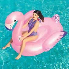 Fenicottero Fashion Luxury Cavalcabile Gigante 173x170cm Isola Rosa Bestway