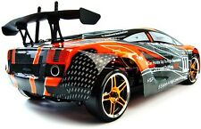 FLYING FISH LAMBORGHINI 4WD HSP ELECTRIC RC in scala 1:10 ON ROAD DRIFT CAR 2,4 Ghz