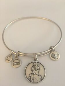 Alex and Ani Disney Cinderella Silver Bracelet