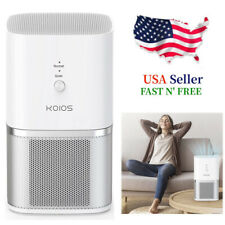 Large Room Air Purifier Hepa Air Filter Odor Dust Smoke Home 3-stage filtration