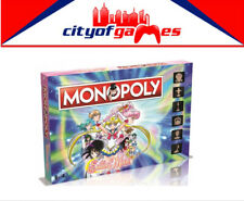 Sailor Moon Monopoly Board Game Brand New
