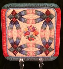 Cherished Traditions The Wedding Ring Quilt Plate Mary Ann Lasher 1st In Series