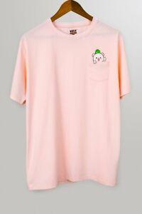 Milk Mocha Bear - Pocket Milk Unisex T-Shirt [Pink XS S M L XL XXL Machine Wash]