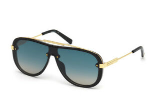 sunglasses DSQUARED2 DQ0271 gold shiny black blue faded 01W