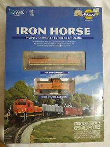 2015 ATHEARN HO #29314 BNSF GP-50 IRON HORSE RAILWAY TRAIN SET - DCC READY