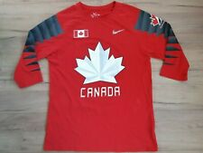 CANADA team! hockey shirt trikot maglia jersey kit camiseta! 5,5/6 ! L - adult!