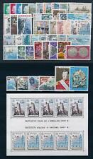 Monaco 1977 Complete Year Set incl. souvenir sheet MNH