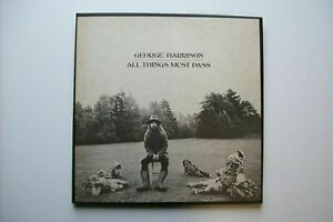 Coffret 33 tours 3 disques George Harrison ‎– All things must pass