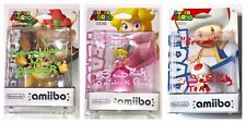 KENNY JAMES & SAMANTHA KELLY Signed Amiibo X3 SET Nintendo Super Mario JSA COA