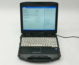 General Dynamics Itronix GD8200 Rugged Laptop Core i7-2655LE 2.20GHz CPU 4GB RAM