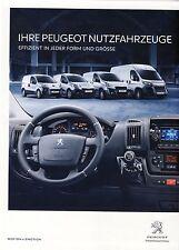 Peugeot Professional 04 / 2015 catalogue brochure  Autriche Partner Boxer