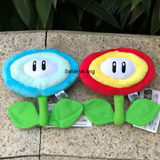 2X Super Mario Bros Sun Flower Fire Ice Plush Toy Cute Stuffed Animal Doll 6.5""