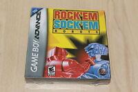 Rock Em Sock em Robots GBA Gameboy Advance New Factory Sealed