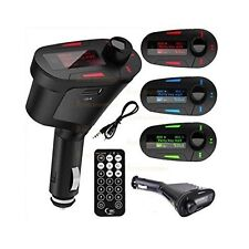 Car Remote Wireless Converter FM Radio Transmitter USB SD Slot Music MP3 Player