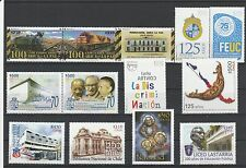 Chile 2013 Complete year  28 stamps MNH including 33 Miners Rescue Sheetlet
