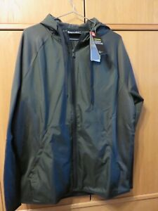 Under Armour AF Storm Full Zip, Water Repellent, Loose Fit, Green - Size M - NEW