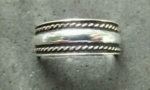 SILVER TOE RING, Solid Sterling Silver, 5mm *BN* good quality, sturdy toe ring