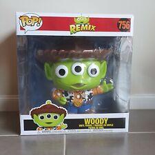 "Toy Story Alien Remix Woody 10"" Funko Pop Vinyl Figure Pixar Disney"