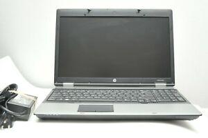 HP Probook 6555b  AMD Phenom II 4GB ram 120GB SSD WIN 7 Web Cam 15'6