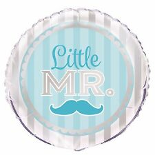 "Little MR Baby Shower Decoration Helium Air Foil Balloon 18"" It's Boy Mum to Be"