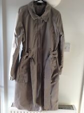 ladies coats size 12. Beige. Trenchcoat Style. Not worn. Excellent Condition.
