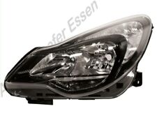 Opel Corsa D  ab 2011 bis 2014 Scheinwerfer links schwarz H7+H1 mit Stellmotor