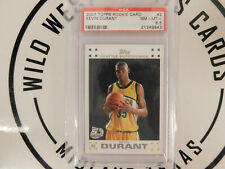 2007-08 Topps 50th Anniversary - Kevin Durant Rookie - PSA Graded 8.5 - Card# 2