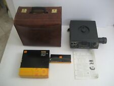 Vintage Kodak Slide Projector in Leather Storage Case - 140 Tray Capacity