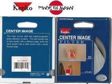 KENKO 2 IN1 FILTER 62MM CENTER IMAGE SAND SPOT SOFT FOCUS  FOR NIKON Canon