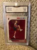 Tyler Herro Rookie 2019 Hoops Graded 10 Miami Heat