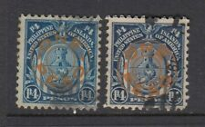 Philippines #368, 368a Overprint (USED) Great